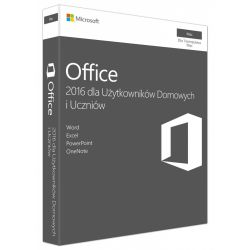 Microsoft Office Mac Home and Student 2016 Polish PKC Box